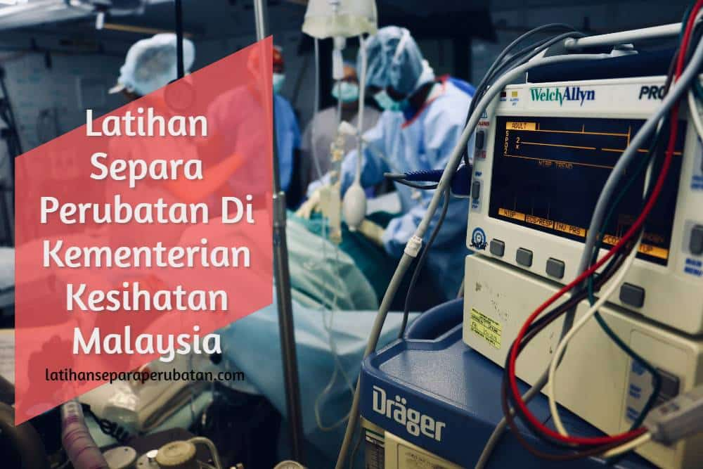 Latihan Separa Perubatan Di Kementerian Kesihatan Malaysia